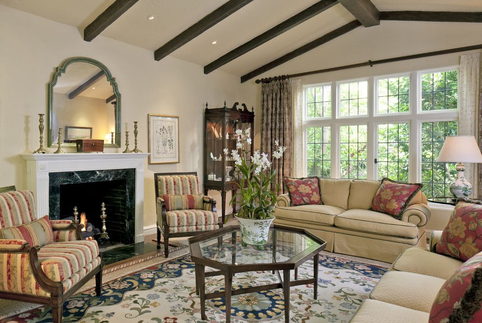 California Tudor Style Residential Remodel Traditional Living X 430 Px