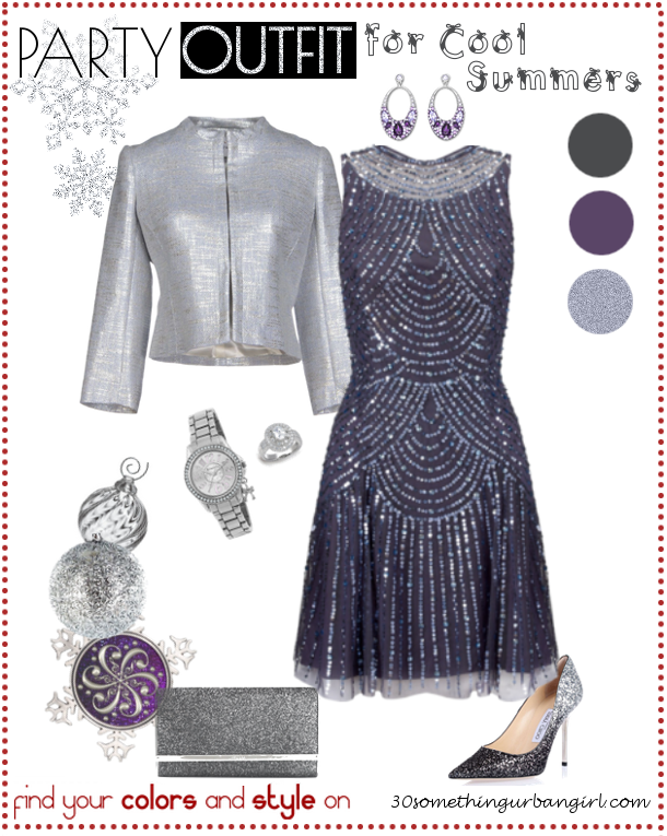 11b41953748b Elegant Holiday Party Outfit for Cool Summers and Cool Winters ...