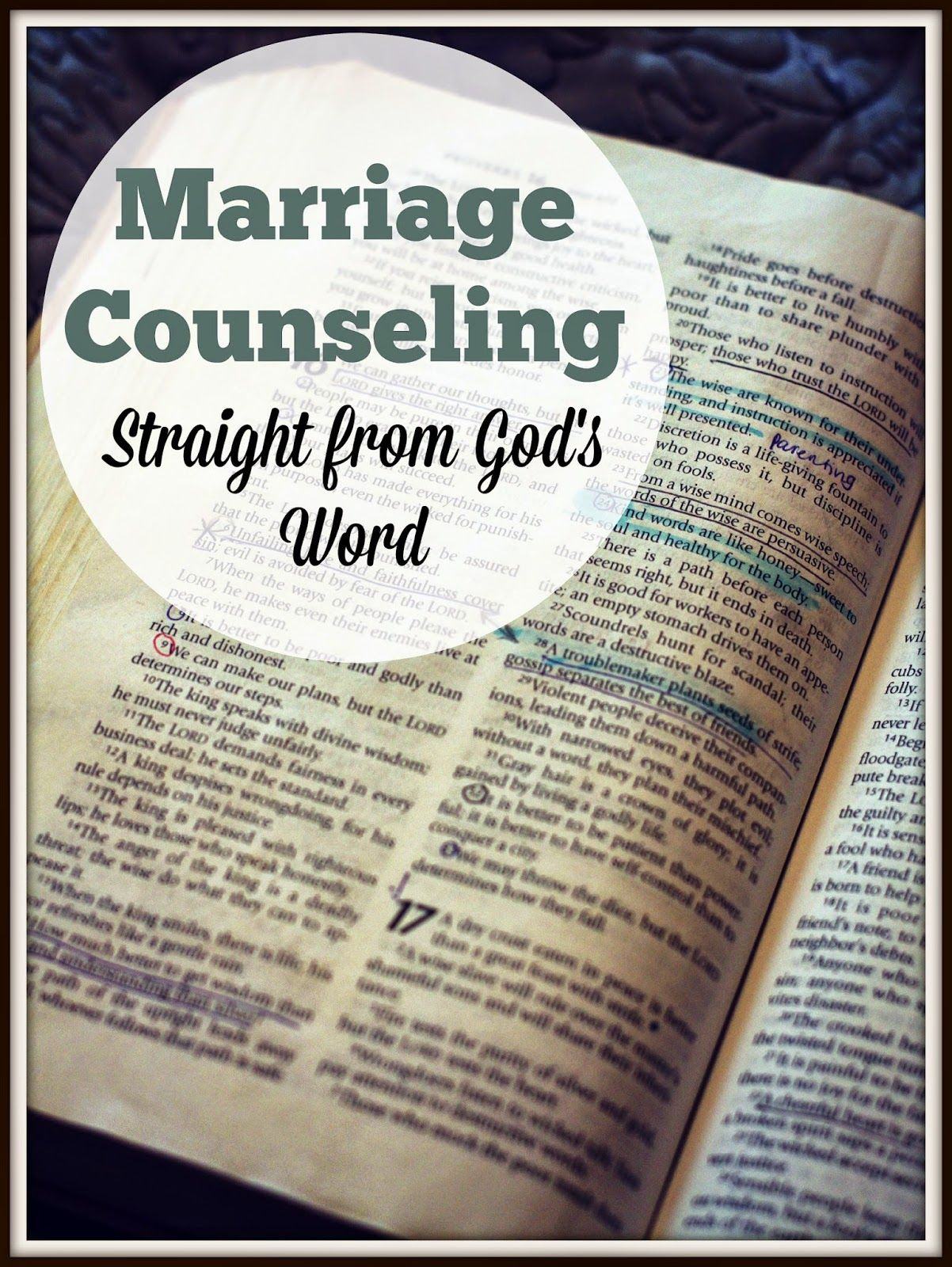 Stronger Marriage Marriage Counseling Straight From God S