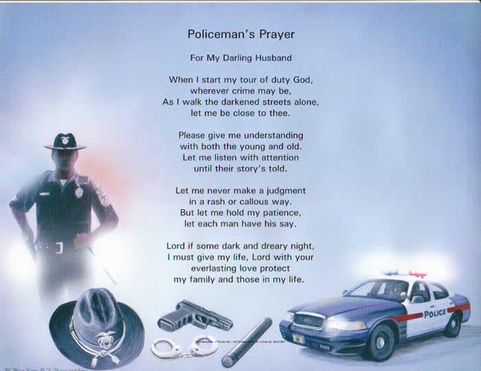 policeman prayers random pinterest police prayer and