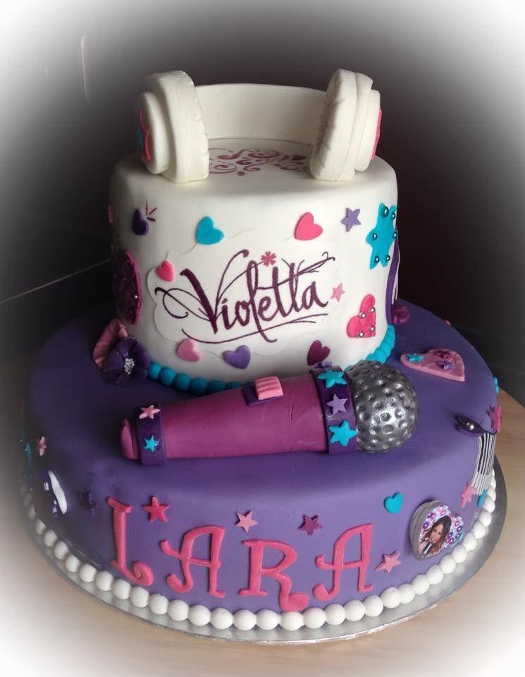 Violetta Torte Violetta Cake Violetta Torte Kinder Kuchen Geburtstag Kuchen
