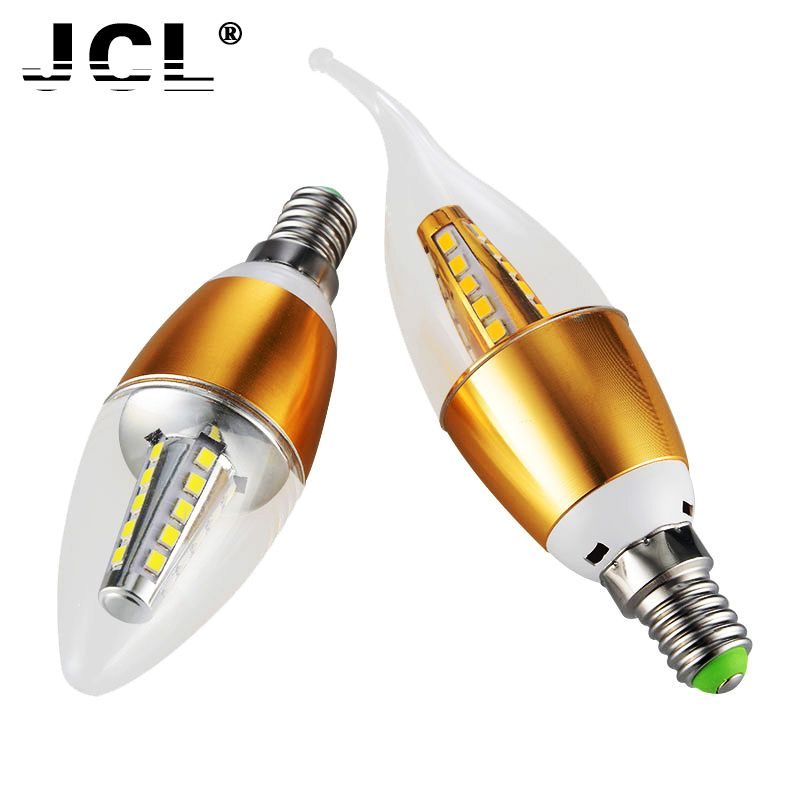 $2.27 (Buy here: http://appdeal.ru/988h ) LED Lamp Candle Light E14 SMD 2835 Real Power 4w AC 220V 240V Cold Warm White Chandelier Lamps led bulb Spotlight for just $2.27