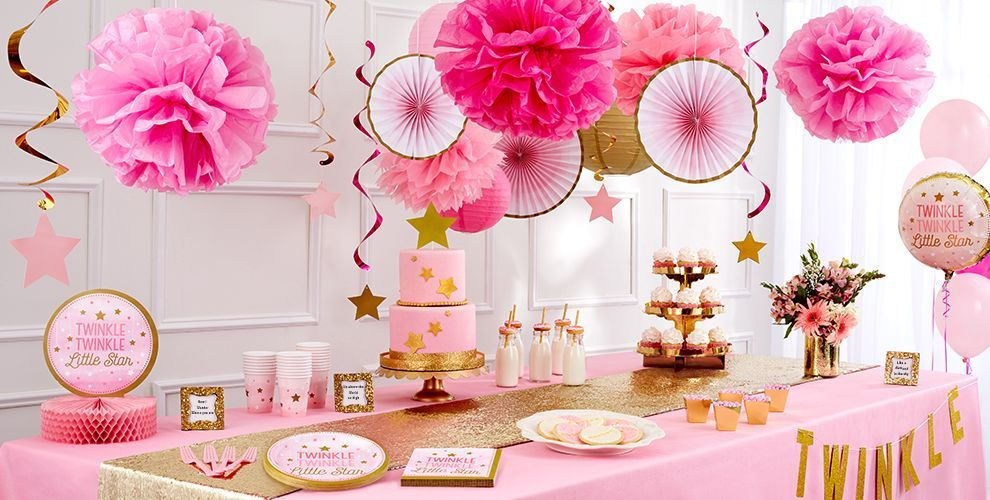 Cute Girl Baby Shower Themes Ideas Baby Girl Shower Themes
