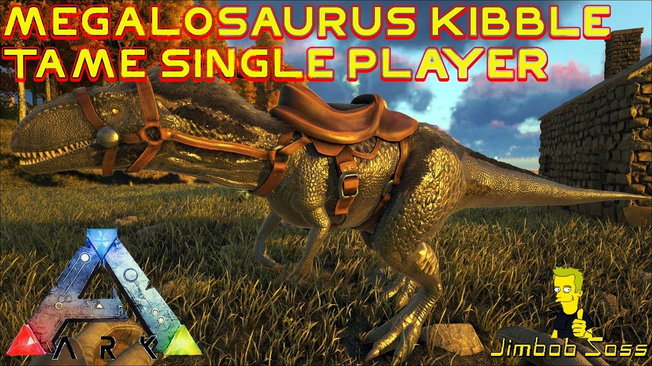 Ark Megalosaurus Kibble Tame Single Player Ark Survival Evolved Ark Single Player Megalosaurus saddle ( level 57 ). ark megalosaurus kibble tame single