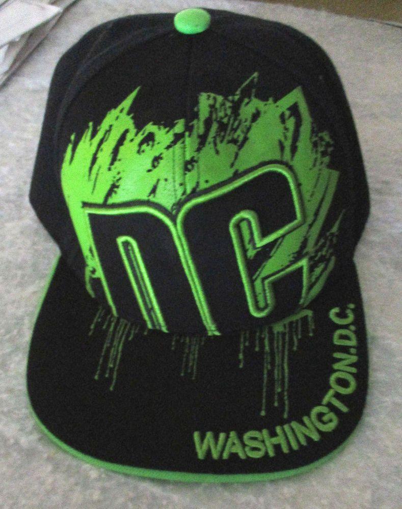 f02b7e6e4ecbc CITY HUNTER USA WASHINGTON DC NEON GREEN PAINT SPLATTER CAP HAT  CityHunter   BaseballCap