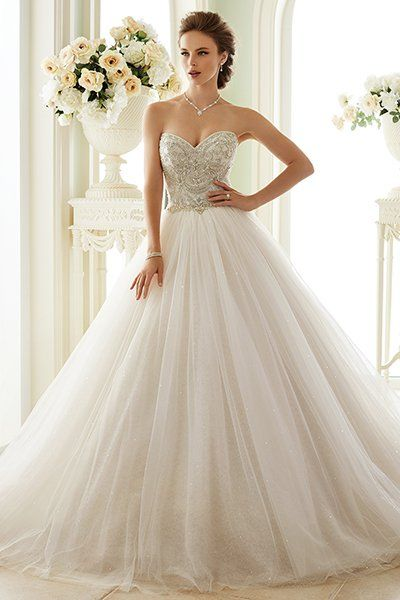 c39cd5baaed When else can you rock a fancy ball gown than on your wedding day  Sophia