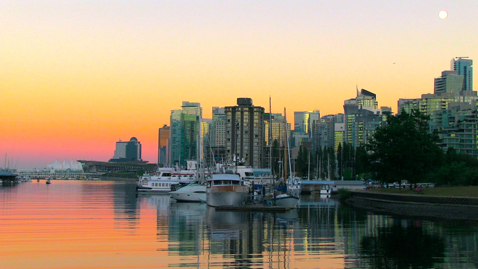 Home ... Vancouver, BC at Dusk ... Pristine! http://www.robynsong.com