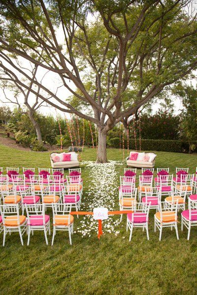 Outdoor Ceremony Ideas #ceremonyideas