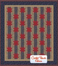 Stars and Stripes Quilt Kit