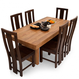 Jordan Capra 6 Seater Dining Table Set