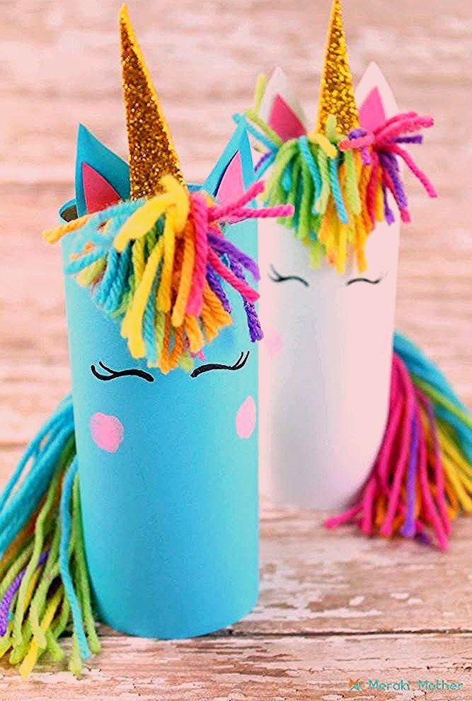 Unicorn Crafts For Kids - Meraki Mother