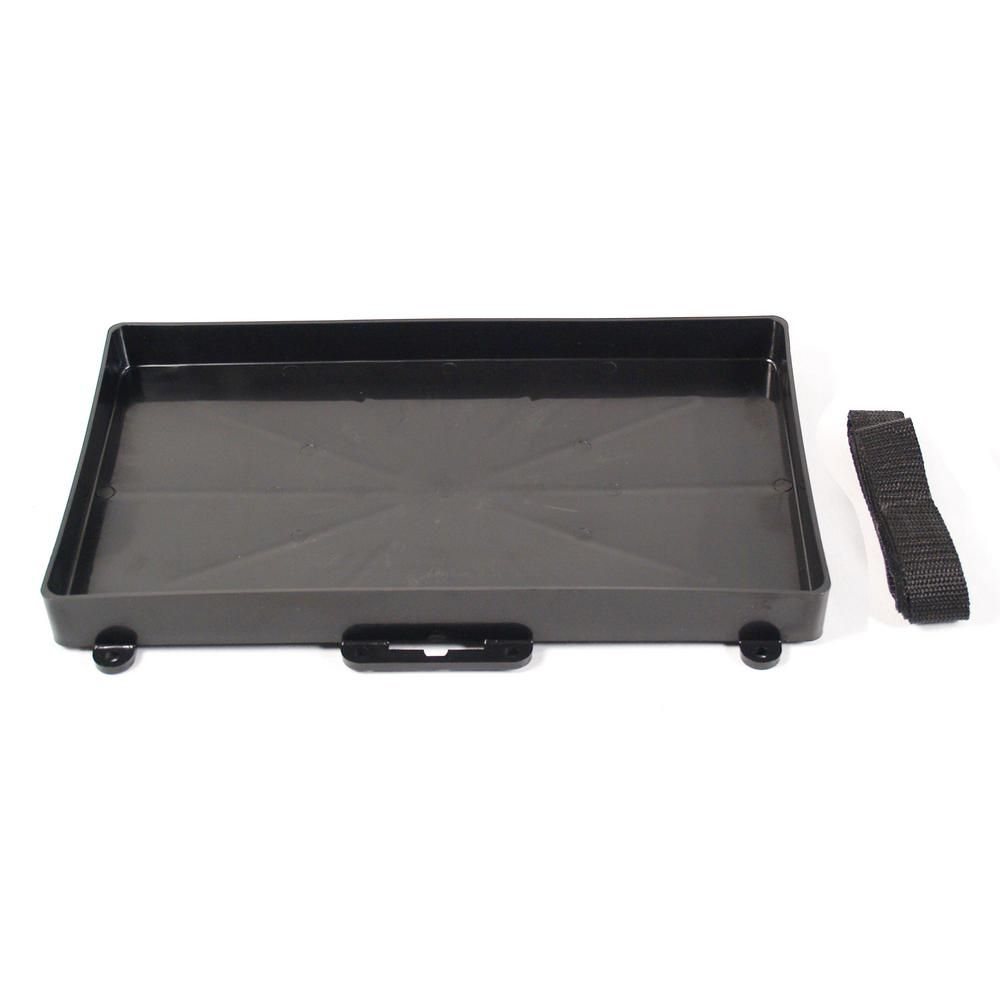 Extreme Max Battery Tray Holder With Strap Group 27 3003 2806