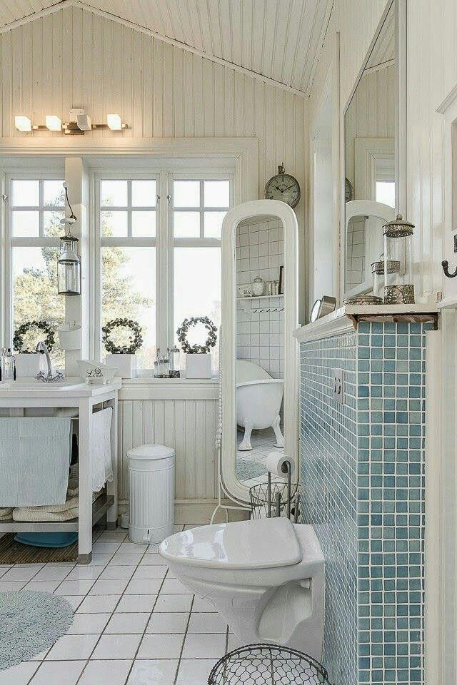Gorgeous Beach House Bath Suite Shabby Chic Bathroom Apartment