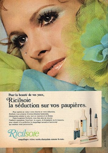 70s Ad Ricilsoie Make Up Makeup Ads Vintage Cosmetics Beauty Ad