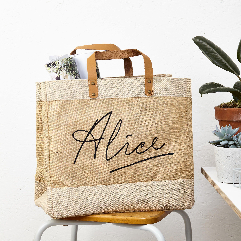 Personalized Shopper Bags Shopper B Lori