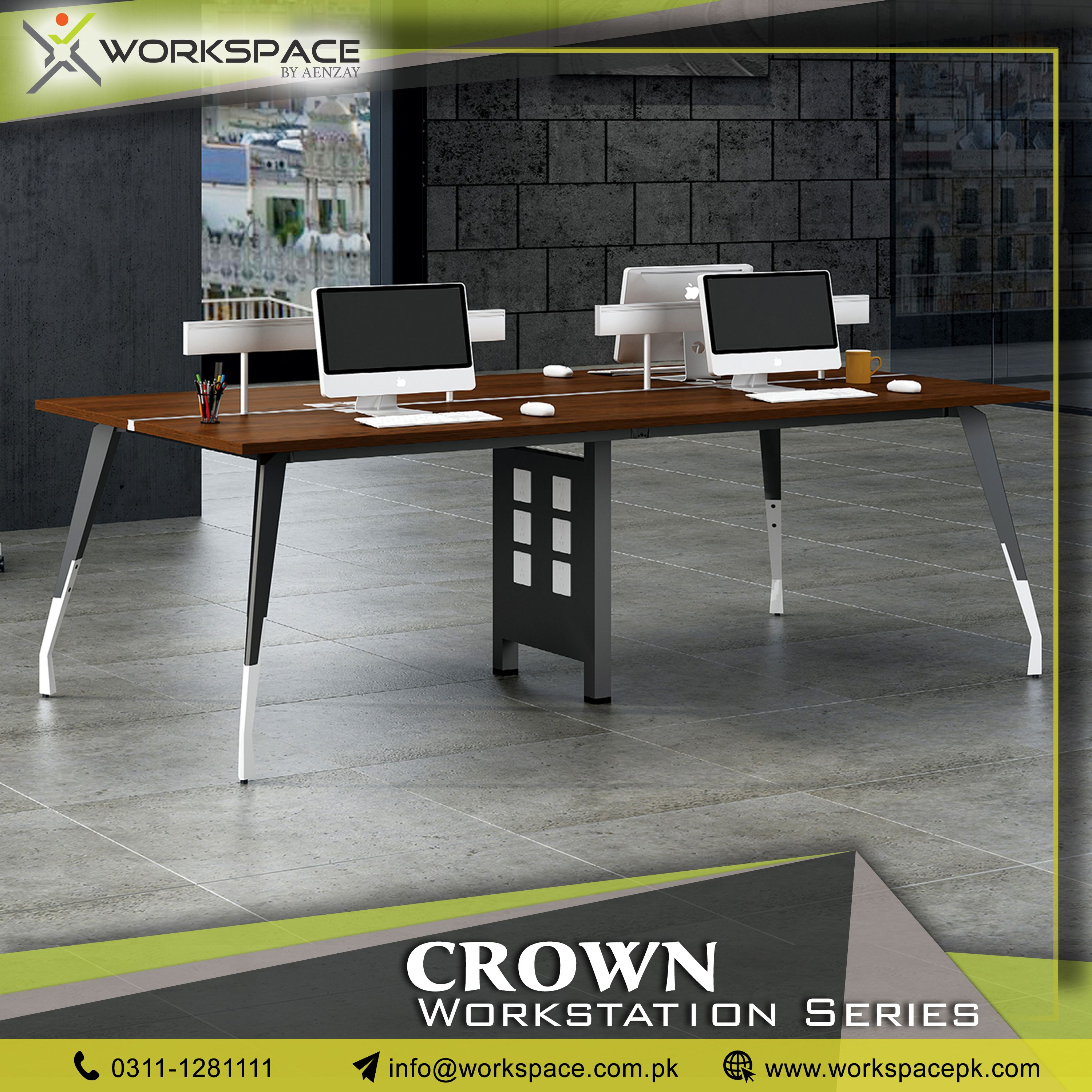 Crown Series Workstations Are A Change That You Would Love