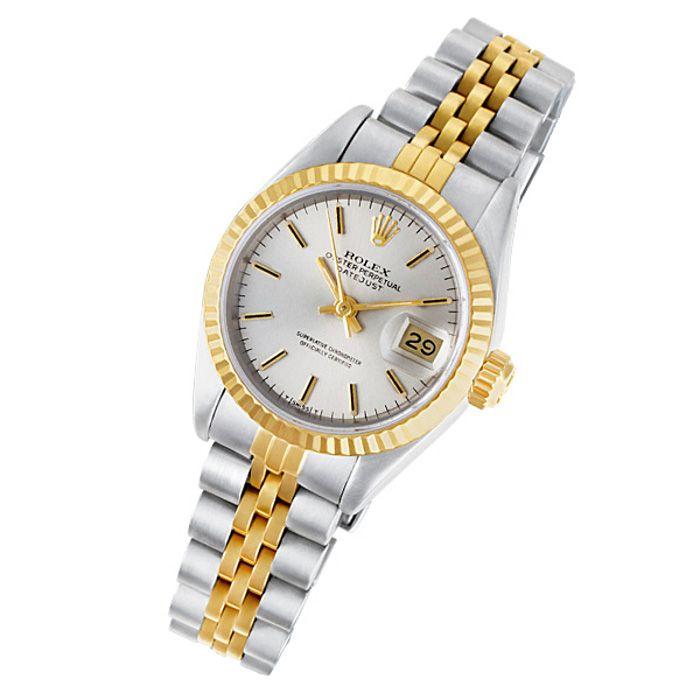 Women s Rolex Datejust 69173 Gold   Stainless Steel Watch  rolex 144c5b784