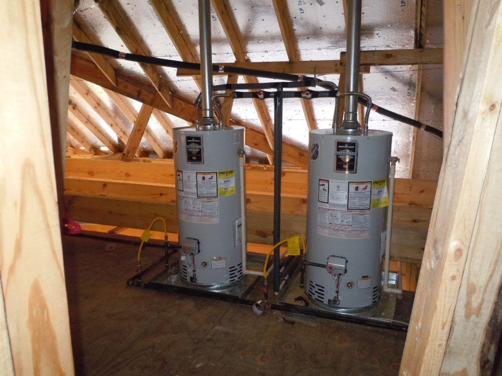 Attic Hot Water Heaters Hot water heater, Water heater