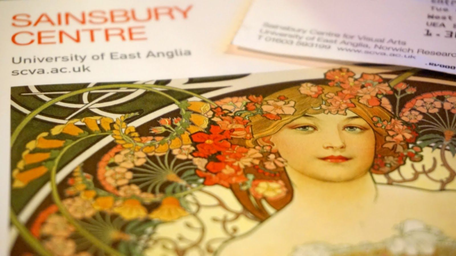 In Quest of Beauty: Alphonse Mucha at the Sainsbury Centre | Better Than I Was Yesterday.