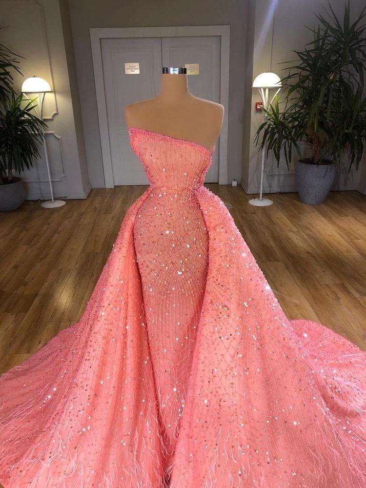 Favymercury In 2021 Ball Dresses Prom Dresses Long Pink Stunning Dresses