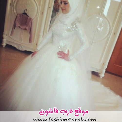 10 اجمل فساتين زفاف محجبات Wedding Dresses Muslim Wedding Dresses Wedding Dress With Veil