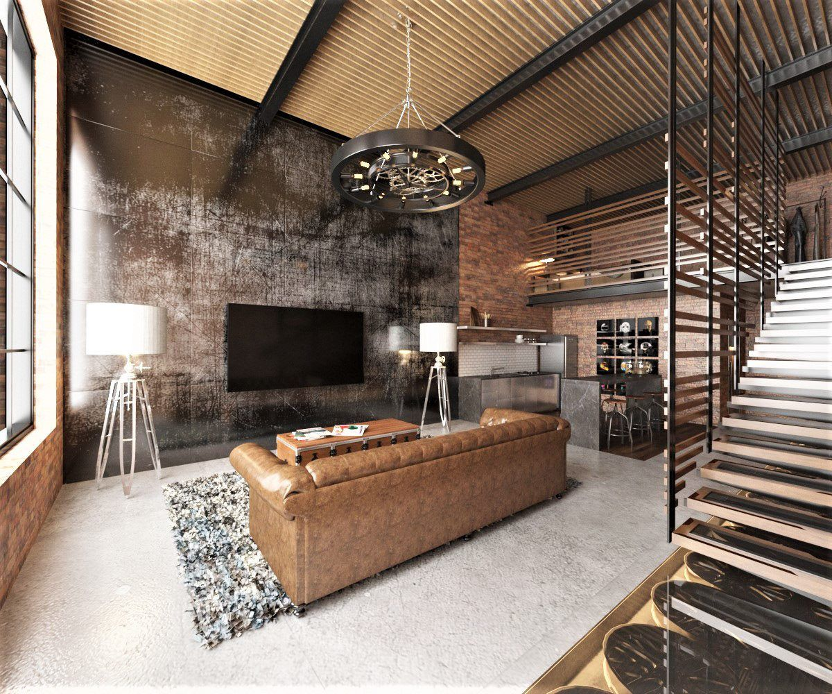 Industrial Warehouse Loft Loft Design Loft Inspiration Loft