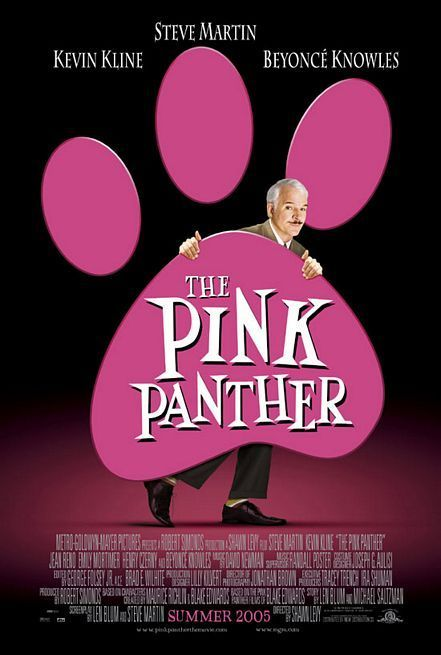 The Pink Panther Movie Poster 2006 With Steve Martin