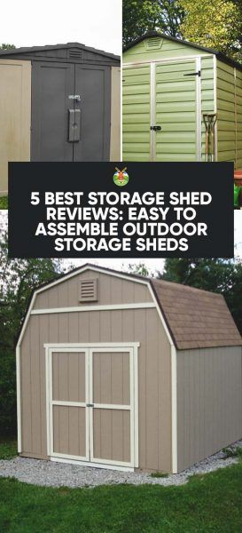 Superbe 5 Best Storage Shed Reviews: Easy To Assemble Outdoor Storage Sheds