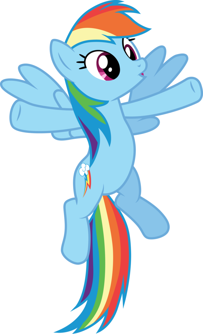 Excited Rainbow Dash By Cloudyglow Rainbow Dash Mlp My Little Pony My Little Pony Friendship
