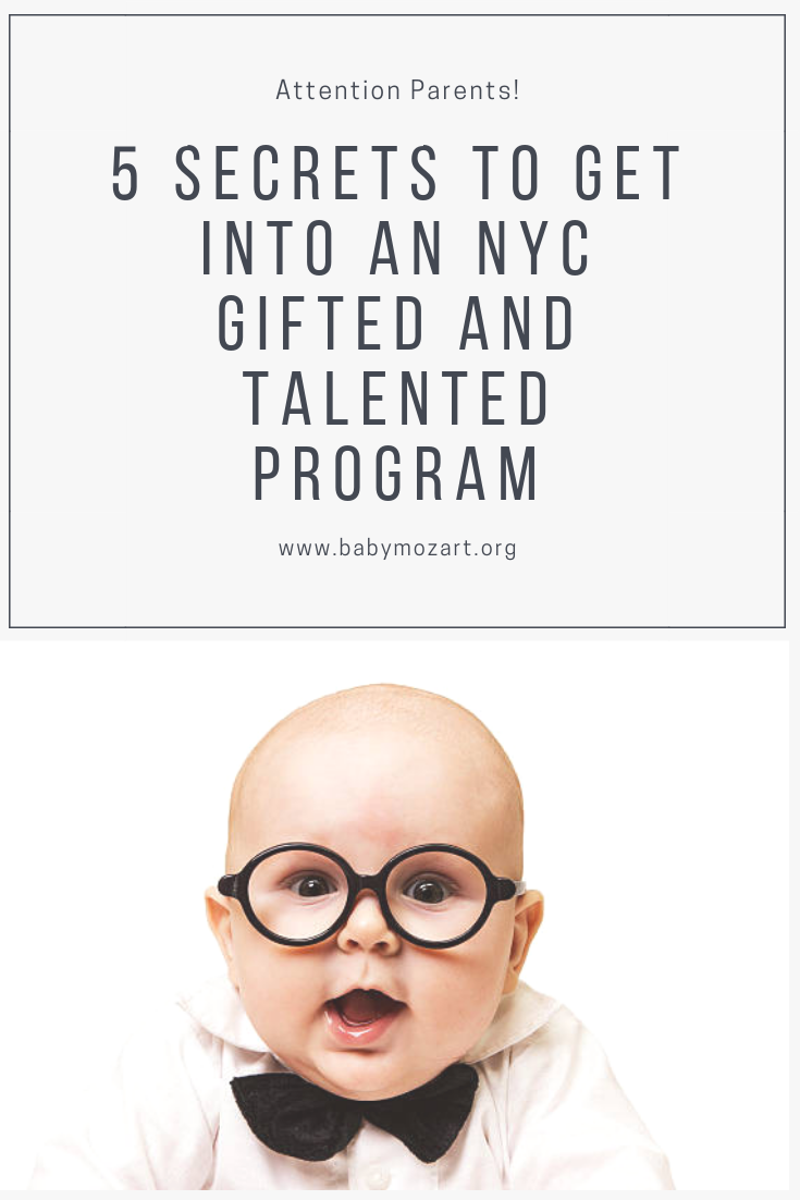 5 Secrets to Get Your Child into an NYC Gifted and Talented Program #gifted #nyc #talented #giftedtestprep #testprep
