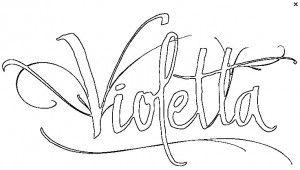 Desenhos Da Violetta Para Imprimir Com Imagens Desenhos
