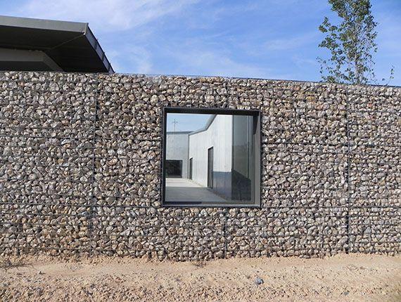 Gaviones galer a almazara avinyonet muros - Muros de gavion ...