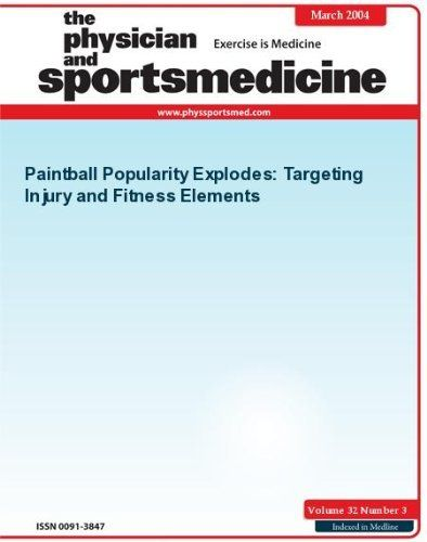 Paintball Popularity Explodes: Targeting Injury and Fitness Elements (The Physician and Sportsmedicine) by Lisa Schnirring. $9.99. 6 pages. Publisher: JTE Multimedia; 3 edition (July 5, 2011)