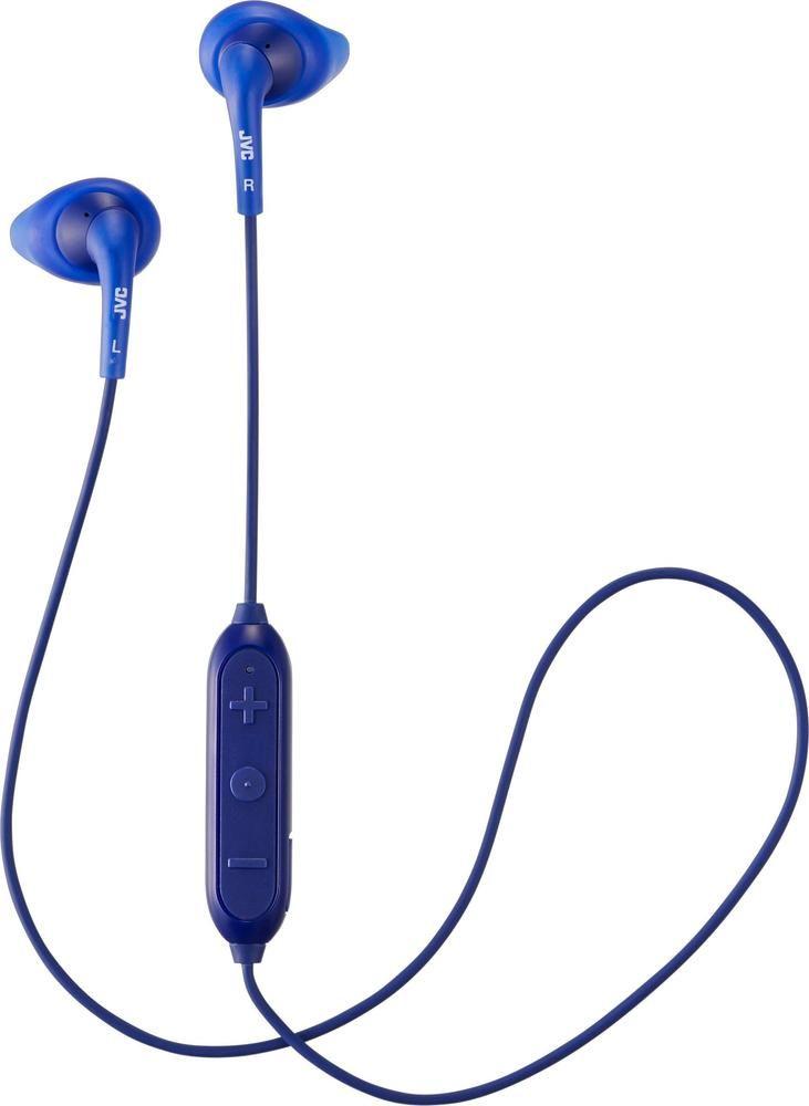 b797037b054 JVC - HA EN10BT Gumy Sport Wireless In-Ear Headphones (iOS) - Blue