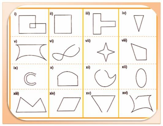 Worksheet On Closed Curves And Open Curves Questions Are Here For The Students T Math Geometric Shapes Fractions Worksheets Math Facts