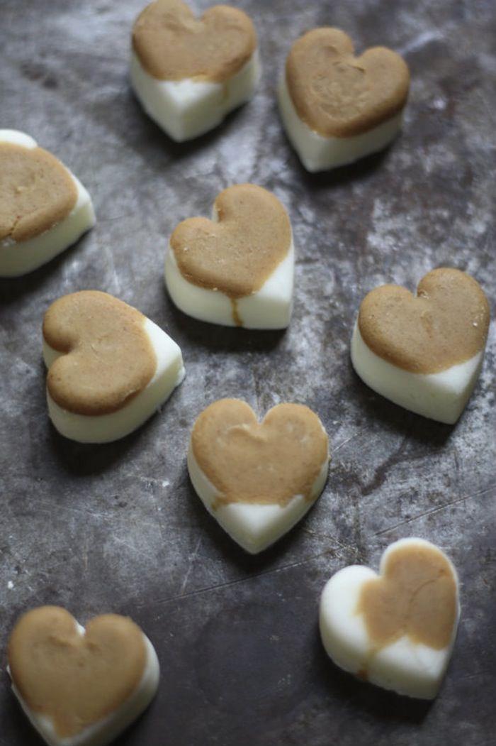 Diy Frozen Peanut Butter And Yogurt Dog Treats Dog Treat Recipes