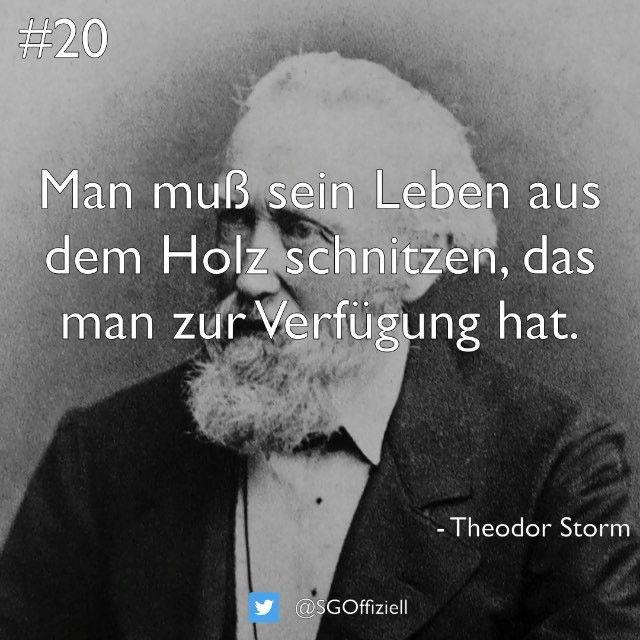 Schriftgut On Instagram Man Muss Sein Leben Aus Dem Holz Schnitzen Das Man Zur Verfugung Hat Theodor Storm Schriftgut Quote Quotes Zitat Woodworking