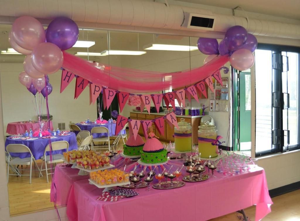 11th Birthday Party Ideas For A Girl Birthday Party Princess Tea Party Princess Party Food Table