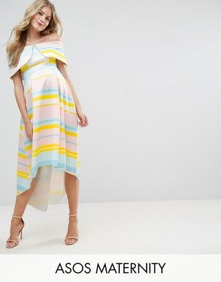 2e7166827d0 Buy Multicolored Asos maternity Jersey dress for woman at best price.  Compare Dresses prices from online stores like Asos - Wossel Global