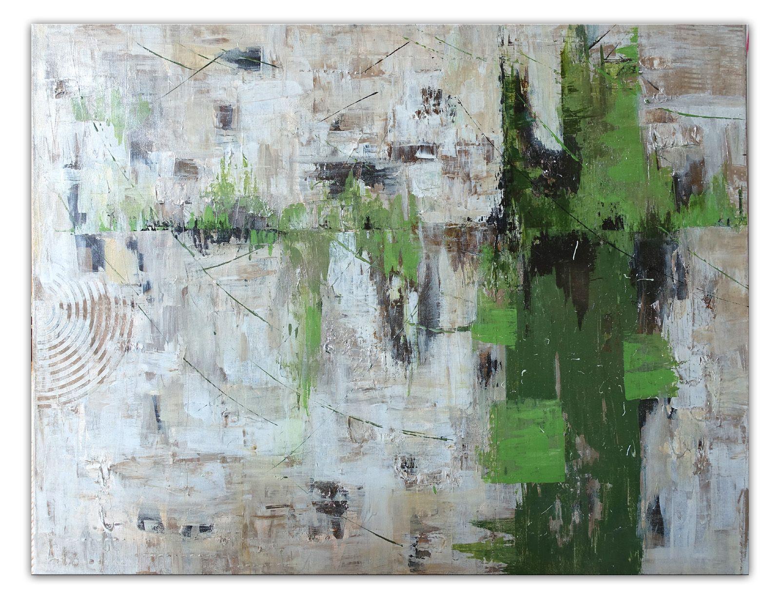 252 verkaufte abstrakte malerei grun grau querformat wandbilder original gemalde kunst kunstwerke unika abstrakt acryl acrylbilder rot