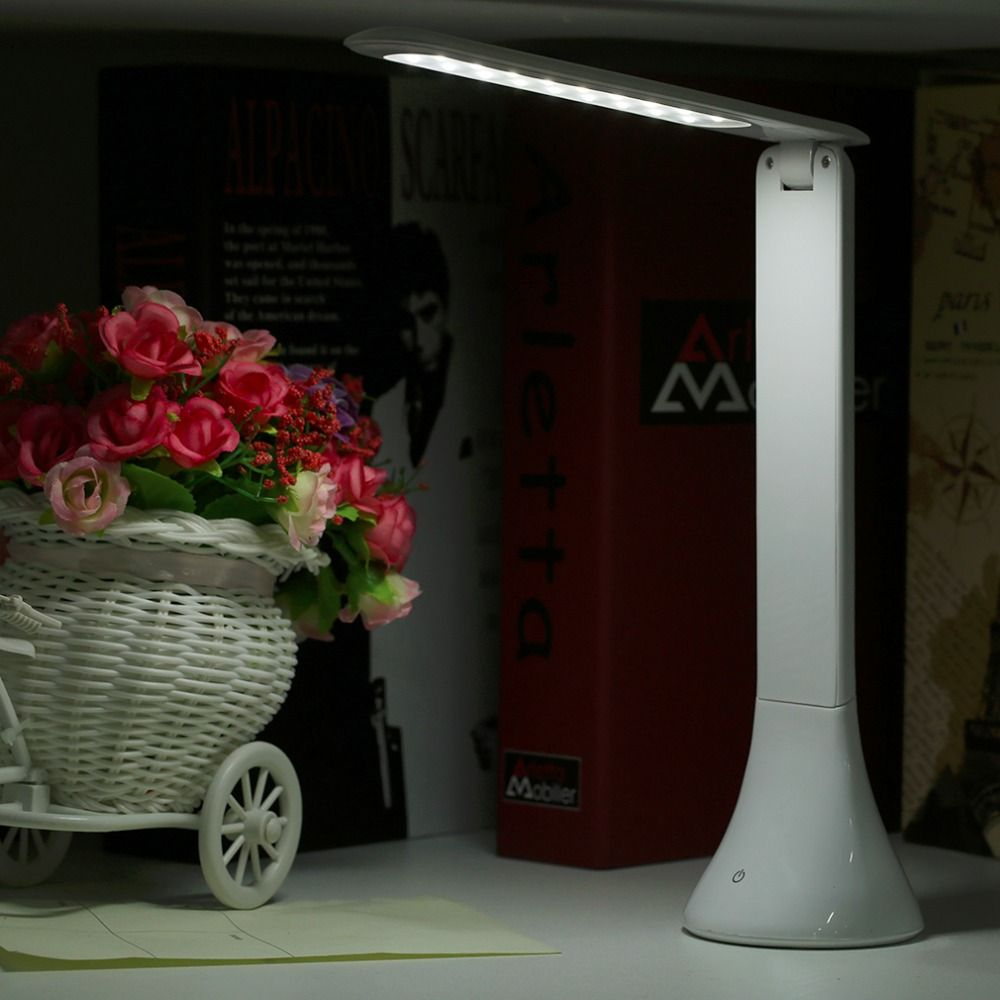 Fashion usb rechargeable touch sensor led desk table light fashion usb rechargeable touch sensor led desk table light dimmable foldable lamp led reading light table geotapseo Choice Image