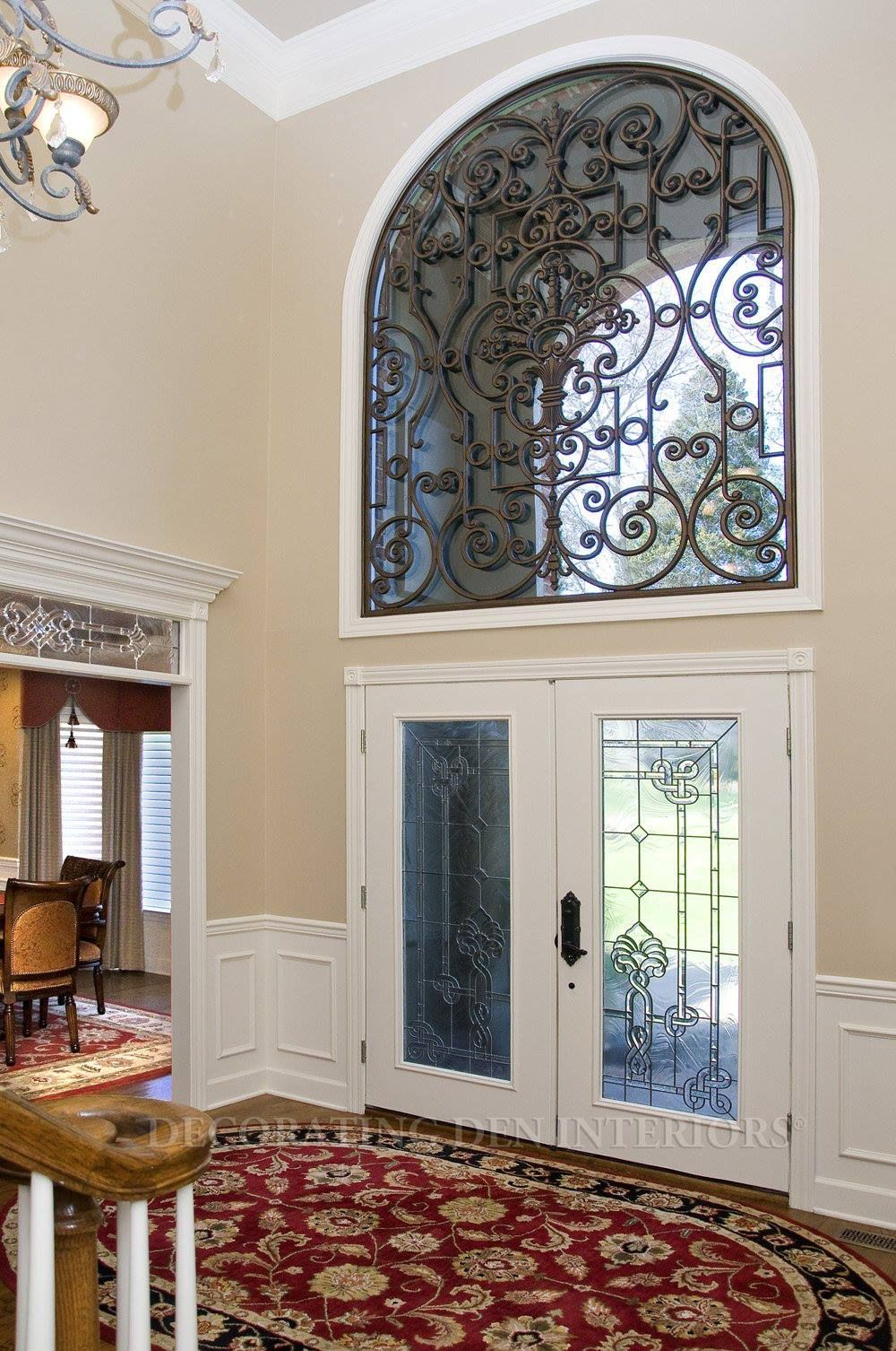 Window coverings arched windows  do you have arched windows in your home we sell amazing faux iron