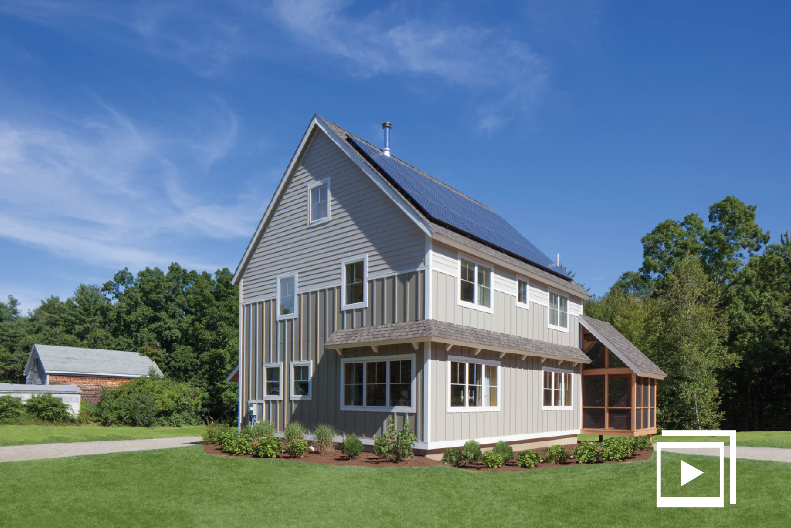 Treat House Mitsubishi Cooling & Heating Modular homes