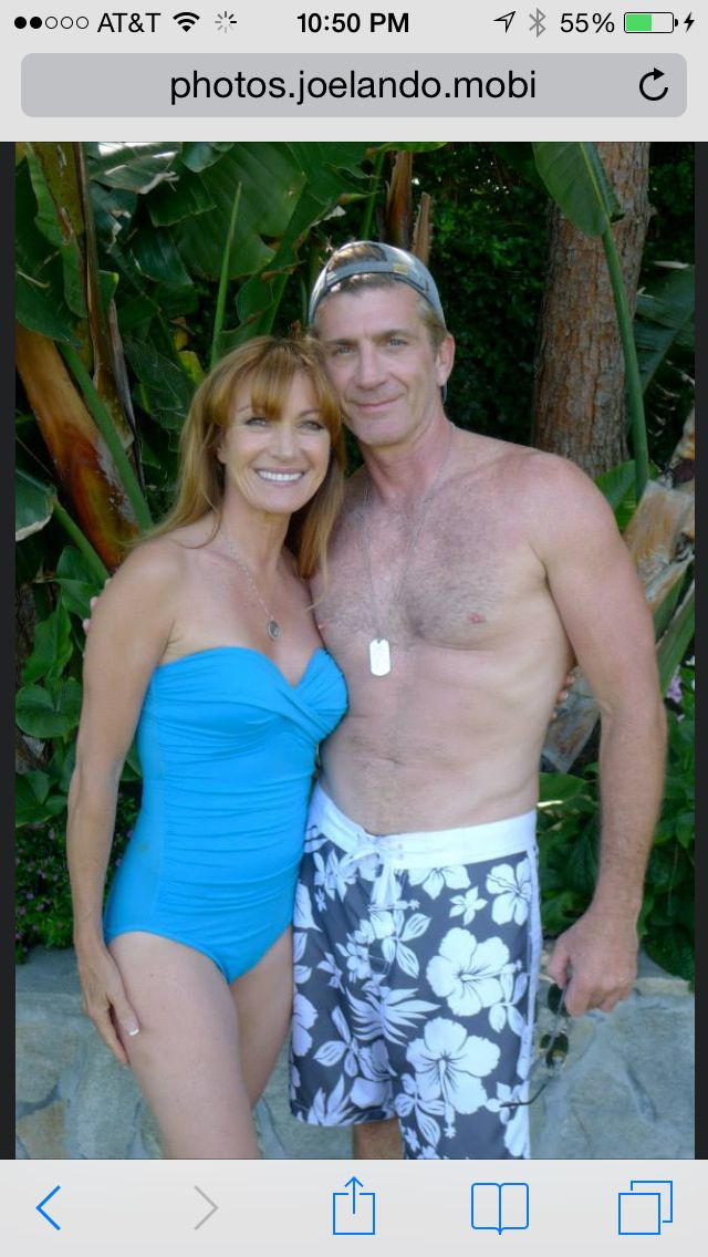 Jane Seymour and Joe Lando. Actress Jane Seymour has a ... |Joe Lando And Jane Seymour