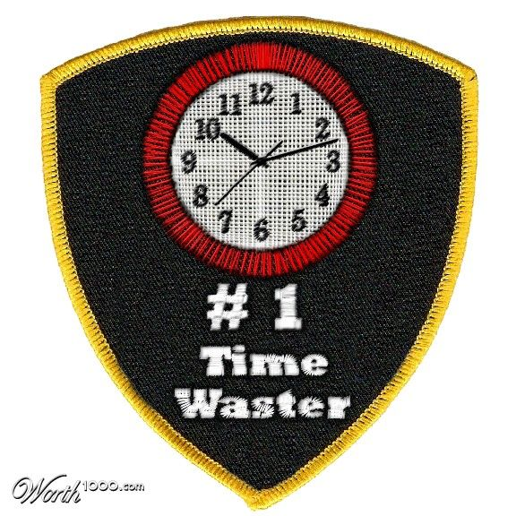 Time Waster Merit Badge