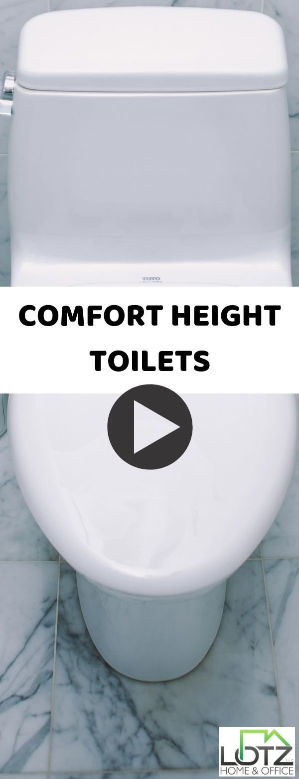 Will There Be A Definite Difference Sitting Down On Your Comfort Height Toilet How Will Powder Room Remodel Bathroom Remodeling Contractors Bathrooms Remodel