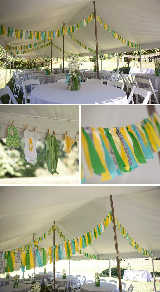 Backyard Bee Themed Baby Shower From On To Baby. I Think I Would Like  Carolineu0027s