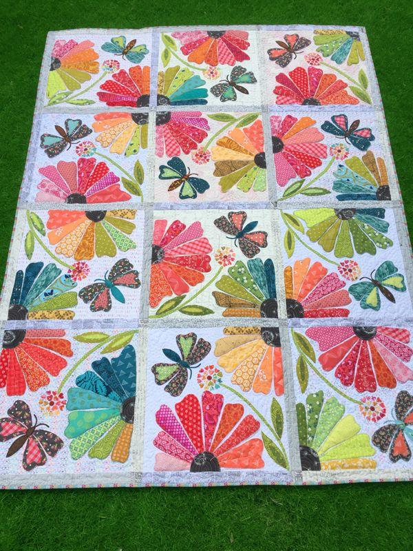 Garden Party Quilt Patterns Flower