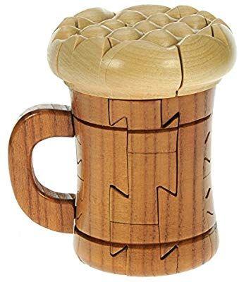 Namesakes 3D Puzzle Bier Dekoraton Holz Geschenk für