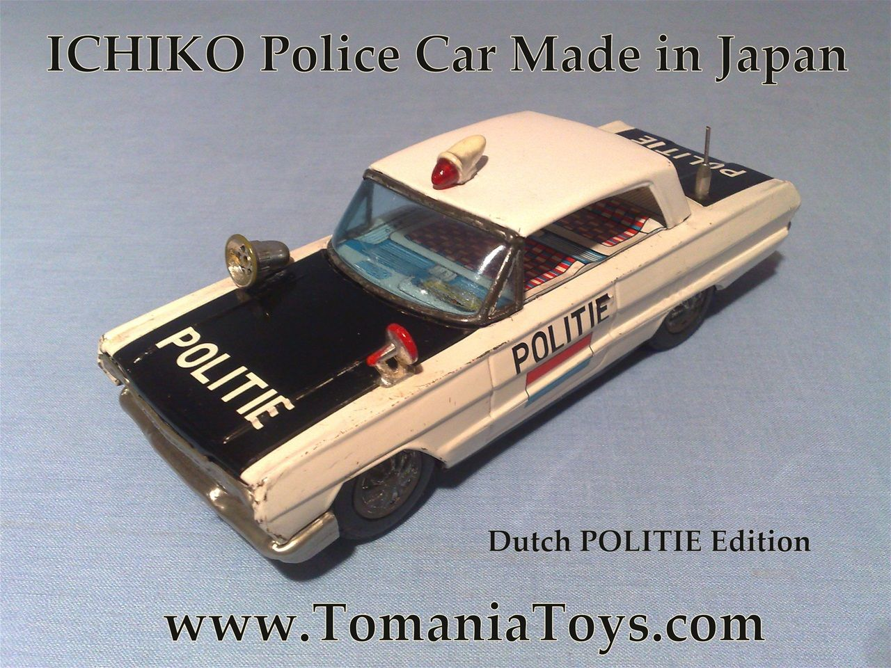 ICHIKO CHEVROLET BEL AIR 1963 Police Car Made in Japan NL